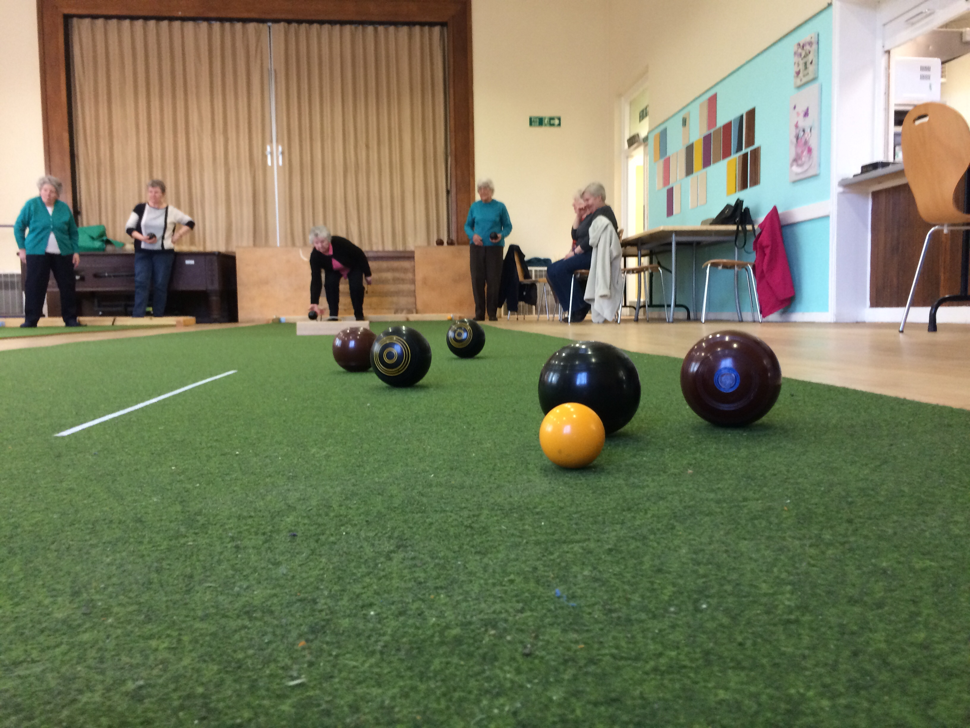 Indoor Carpet Bowls | Lion Farm Action Centre